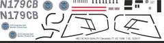 EC 120B - Homeland Security - N179CB - Decal 77 - 1:32