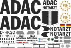 EC 135 - ADAC - D-HKGD - Decal 200