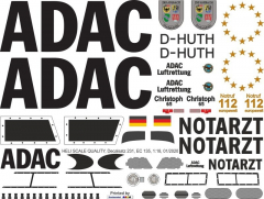 EC 135 - ADAC - D-HUTH Christoph 65 - Decal 231