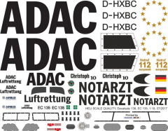 EC 135 - ADAC - D-HXBC - Decal 138 (1:32)