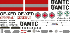EC 135 - ÖAMTC - OE-XED - Decal 182 - 1:32