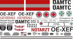 EC 135 - ÖAMTC - OE-XEF - Decal 183 - 1:32