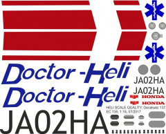 EC 135 - Doctor-Heli - JA02HA - Decal 137 - 1:32
