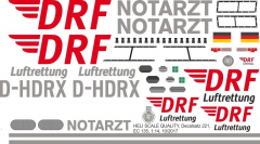 EC 135 - DRF - D-HDRX - Decal 221