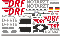 EC 135 - DRF - D-HRTB - Decal 205