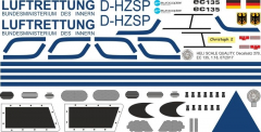 EC 135 - Luftrettung BMI - D-HZSP - Decal 273