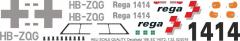 H145 / EC 145T2 - REGA - HB-ZQG - Decal 188 - 1:32