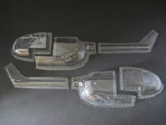 Bo 105 - Folieteile 0.3 mm