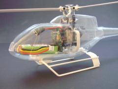 EC 120B - Halter Mechanik Blade mCPX BL