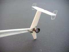 MD 500D - Folieteile T-Leitwerk