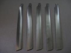 Rotorblätter symmetrisch Fünfblatt 210 mm