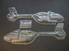 H145 / EC 145 T2 - Folieteile 0.2 mm für Impeller