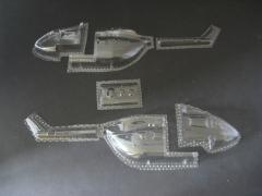 EC 145 - Folieteile 0.2 mm