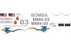 Mi-17MD - Feuervogel - M994-03 - Decal 72