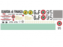 Hughes 500C - Guardia di Finanza - Decal 115 - 1:35