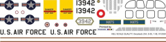 S-55 - US Air Force MATS - Decal 234 - 1:48