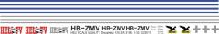 SA 315B - HELI-TV - HB-ZMV - Decal 125