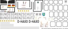 SA 330 - Bundesgrenzschutz See - D-HAXO - Decal 264