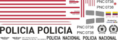 UH-1H - Policia Nacional - PNC 0738 - Decal 79 - 1:48