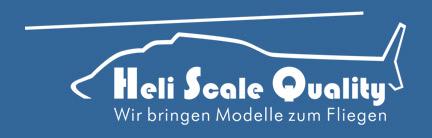 HELI SCALE QUALITY - Scale Rümpfe für die kleinen RC Hubschrauber